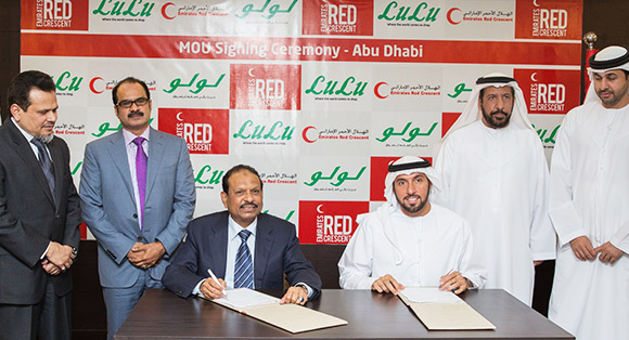 LuLu signs MoU with Emirates Red Crescent to sell charity products