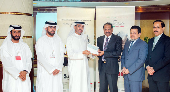 LuLu Group donates towards UAE Water Aid
