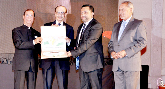 Yusuff Ali M.A. honoured by the Indian Business Council