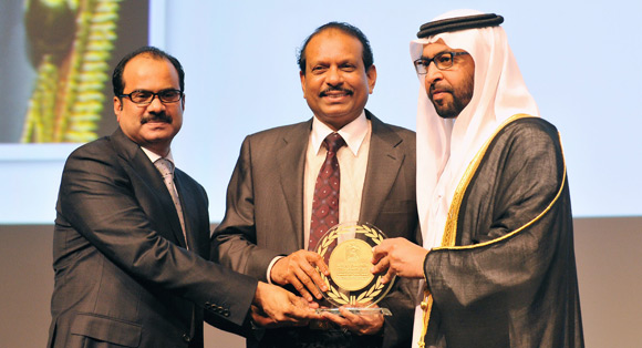 Yusuff Ali honoured with Hamdan bin Zayed Award 2013