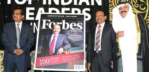 Yusuff Ali MA tops Forbes list of '100 Indian Leaders in the UAE'