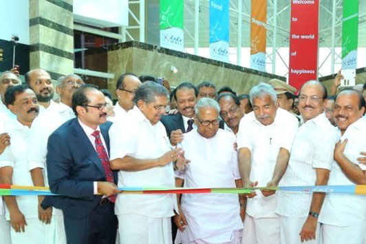 LuLu Mall together with LuLu Hypermarket opens in Kochi