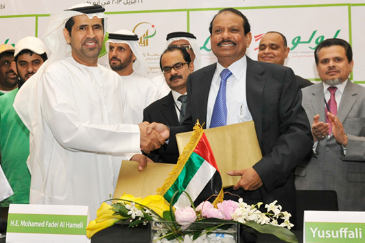 Organic vegetables grown by the special needs community in UAE to be sold in LuLu Hypermarkets