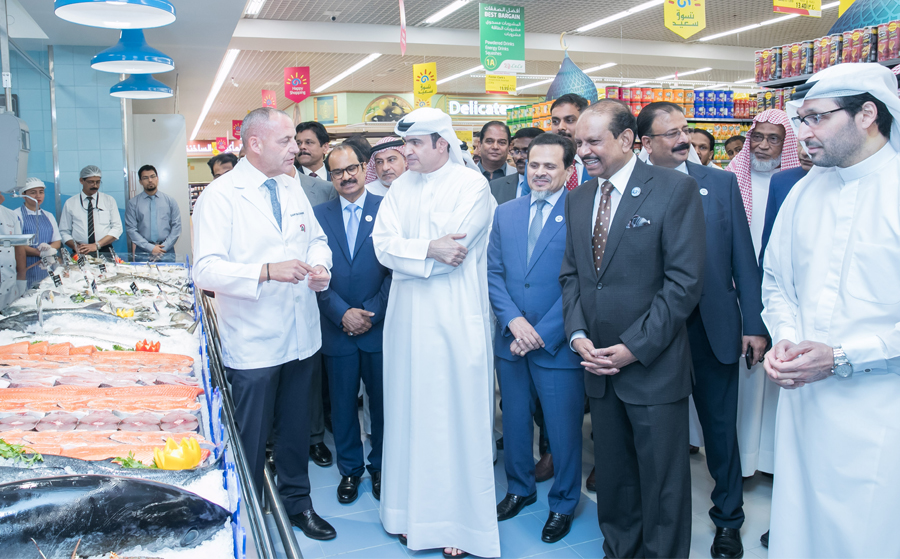 The 147th hypermarket was officially inaugurated by Sami Al Qamzi, Director General of the Department of Economic Development (DED)