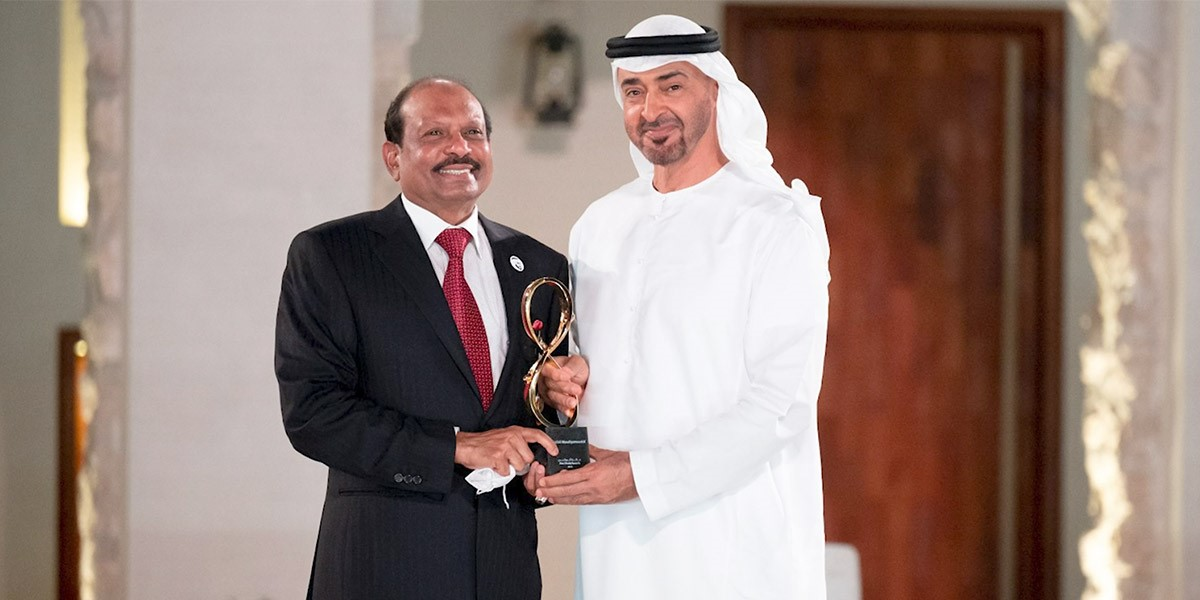 Top Civilian Honour for LuLu Chairman - Abu Dhabi Crown Prince H.H. Sheikh Mohamed Bin Zayed Bestows Abu Dhabi Award to Yusuff Ali M.A